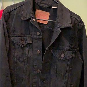 Levi Jean jacket black :)